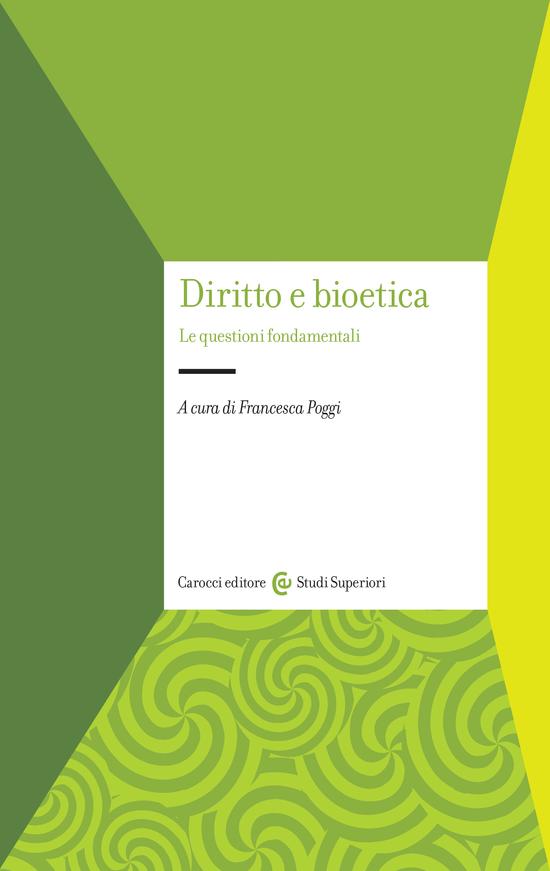 Copertina del libro Diritto e bioetica