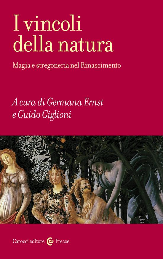 Copertina del libro I vincoli della natura
