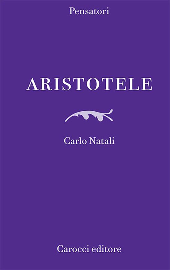 Copertina del libro Aristotele