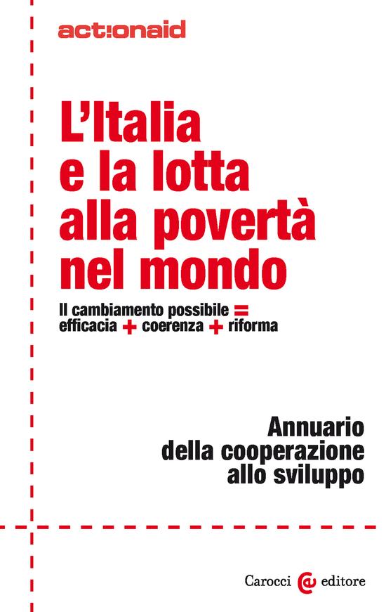 Copertina del libro L'Italia e la lotta alla povertà nel mondo