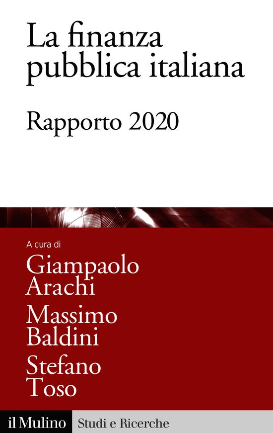Copertina del libro La finanza pubblica italiana